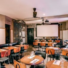 L'étage du café de la chaufferie à Paris 10e