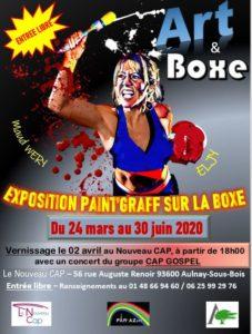 ART & BOXE @ Le Nouveau CAP | | |
