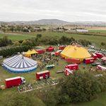 cirque event team building agence convention theme decor