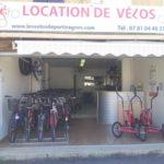 base de location vélos 2